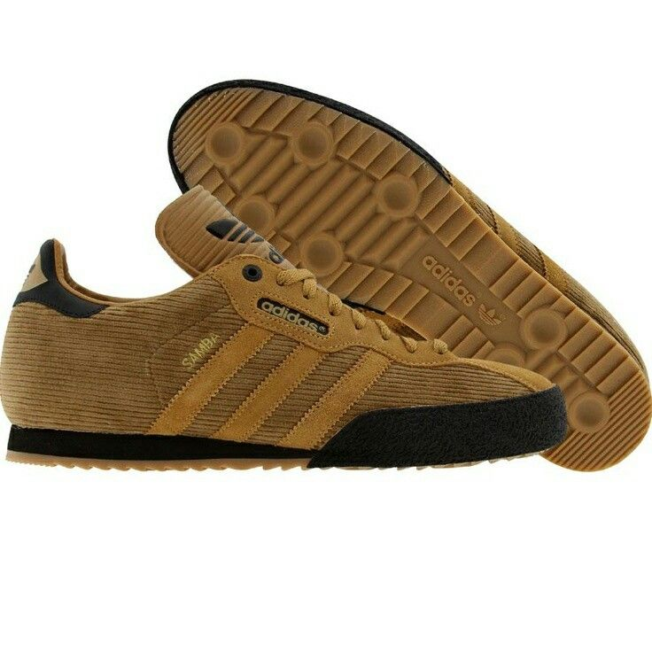 Samba Supers in golden brown cord - cool