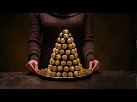 Create Your Own Ferrero® Pyramid - Confectionnez votre propre pyramide Ferrero®