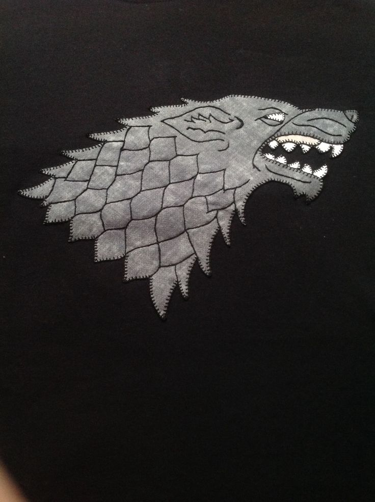 Logo Casa Stark (Juego de Tronos)