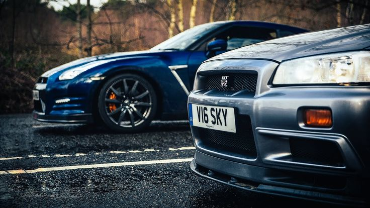 Cars: R34 Nissan Skyline GT-R Vs R35 GT-R: The Ultimate Godzilla Review [Video] - http://www.yardhype.com/cars-r34-nissan-skyline-gt-r-vs-r35-gt-r-the-ultimate-godzilla-review-video/