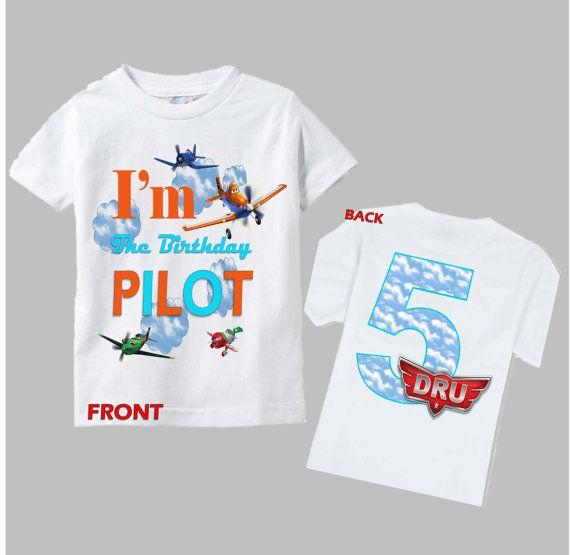 Planes Birthday Shirt  Disney Planes Shirt Front by funfashionsetc, $14.95