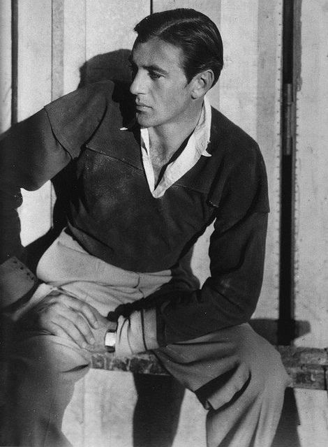 Gary Cooper. Can anyone name his first film appearance? :)