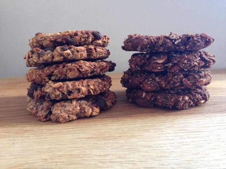 Yes, endnu et indlæg om lækkerier til den søde tand, men med et twist af sundhed. Som overskiften så fint siger det, så har jeg lavet nogle cookies, som er et sundt alternativ til de velkendte (gode) cookies, der er proppet med sukker. Og det bedste ved det hele er, at de smager syndigt godt, ....