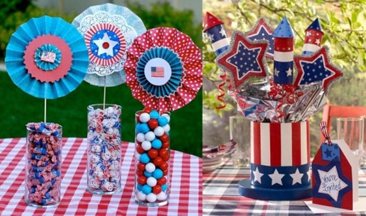 4th of july centerpieces ideas
