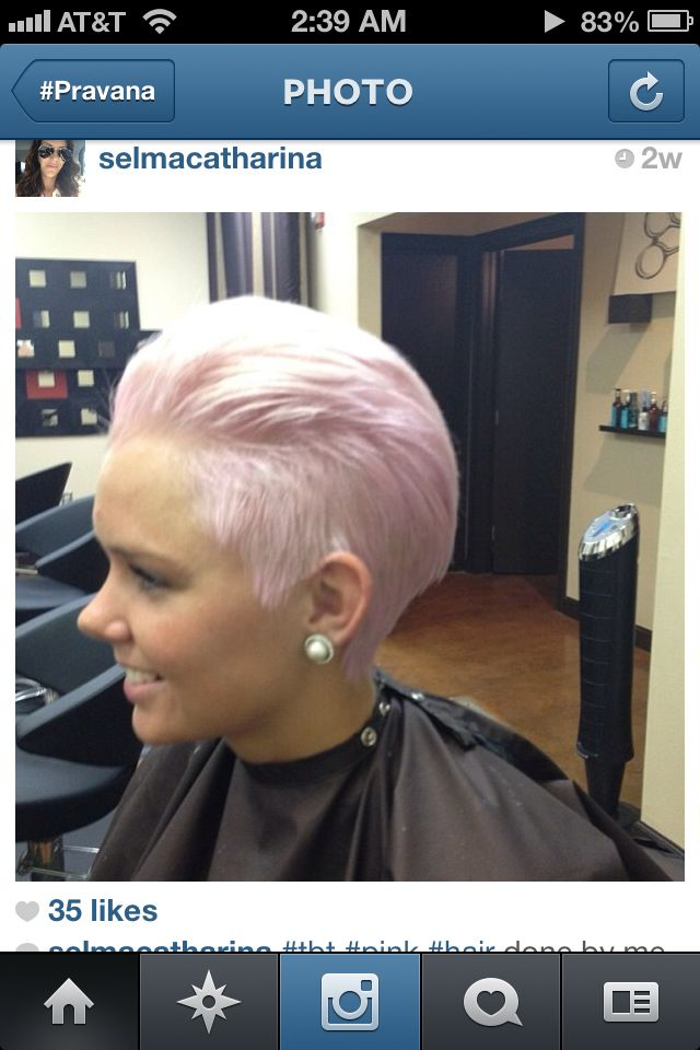 Pravana Pretty In Pink Pastel Hairthings Pinterest Hair Candy And Pixie Cut