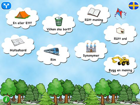 Läs och förstå 2 består av åtta lärorika övningar som tränar läsförståelse och grammatik.