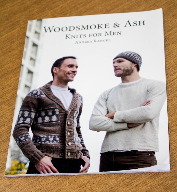 Woodsmoke & Ash Knits for Men available in store.