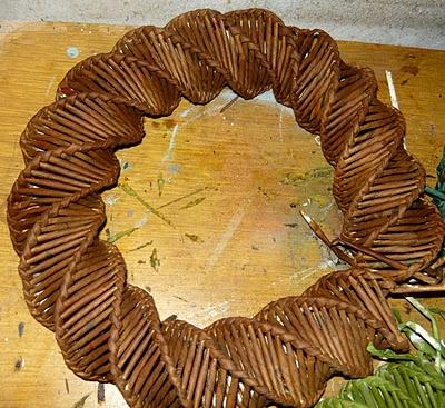 Wianek - splot spiralny