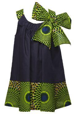 Lulu dress,bow dress series from isossychildren.com