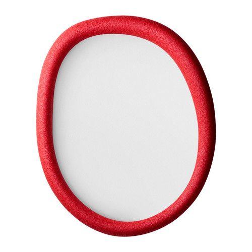 Superbe cadre photo de couleur rouge
