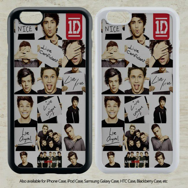 cool Funny 1D One Direction Collage for iPhone 6-6S Case iPhone 6-6S Plus iPhone 5 5S SE 4-4S HTC Case Samsung Galaxy S5 S6 S7 and Samsung Galaxy Other