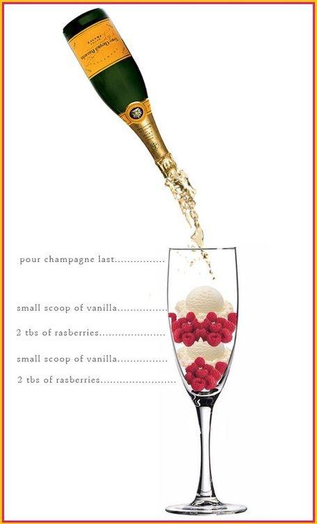 Veuve Clicquot champagne dessert                                                                                                                                                                                 More