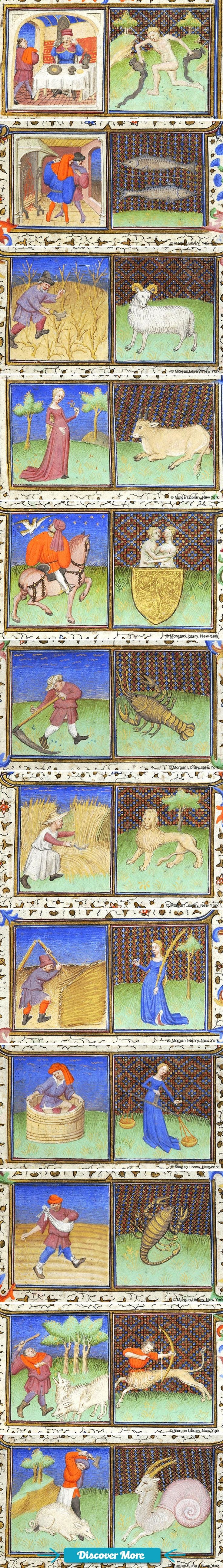 [A Fortune Teller Revealed] Trump's Ugly Arcanum Of His Presidential Journey, Click Here To Learn More Signs of the Zodiac | Book of Hours | France, Paris | ca. 1425-1430 | The Morgan Library  Museum #Astrology #divination #horoscopes #Zodiac #Numerology #Cartomancy #Geomancy