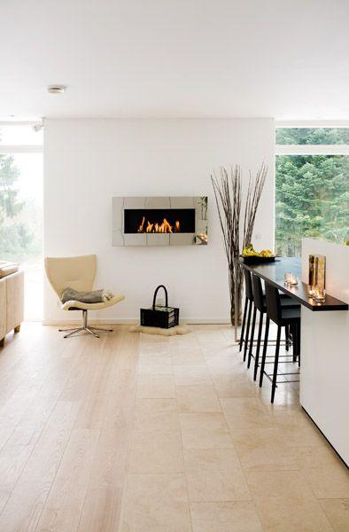 contemporary interior design- the perfect reading corner with decoflame® New York Empire
