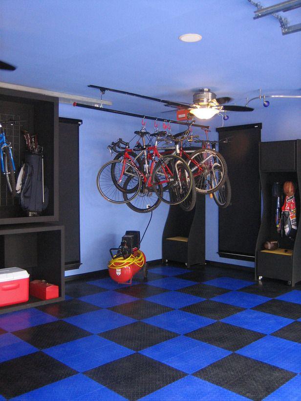 22 best garage rehab images on pinterest garage storage garage before and after sports garage makeover diy solutioingenieria Gallery
