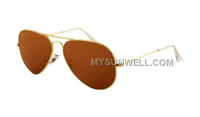http://www.mysunwell.com/cheap-ray-ban-rb3025-aviator-sunglasses-gold-frame-deep-brown-polarize.html CHEAP RAY BAN RB3025 AVIATOR SUNGLASSES GOLD FRAME DEEP BROWN POLARIZE Only $25.00 , Free Shipping!