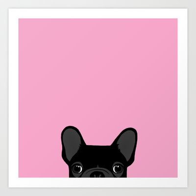 French+Bulldog+Art+Print+by+Anne+Was+Here+-+$15.50