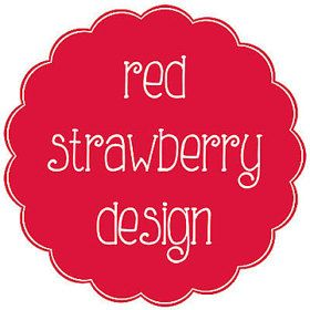 Red Strawberry Design - a range of paper and clipart for commercial use. New Zealand seller.