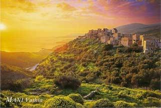 Mani in the Peloponnese region