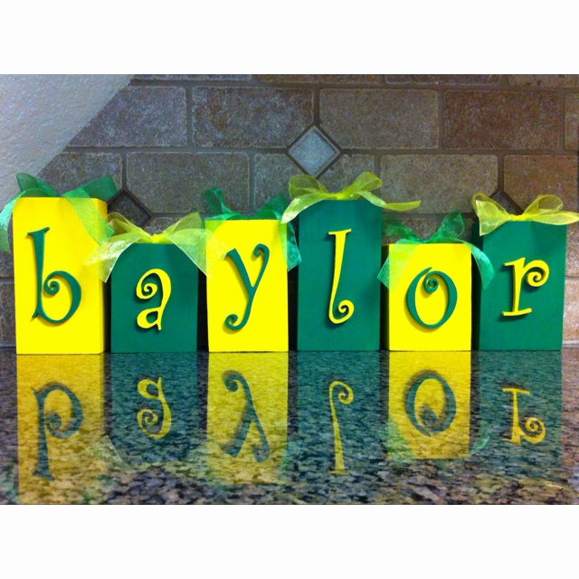 Baylor blocks!