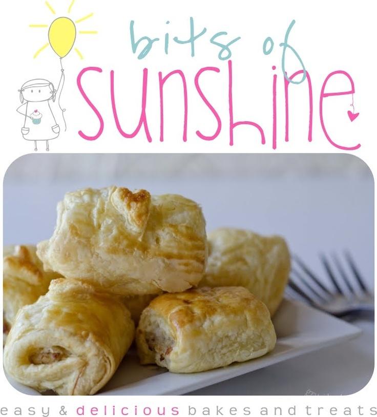 Bits of Sunshine: Homemade Sausage Rolls