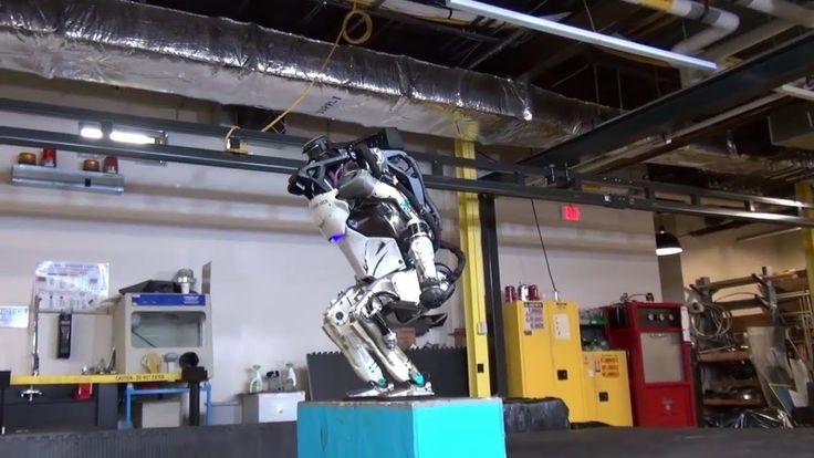 Elon Musk, Tweeted about this Back Flipping Ninja like Robot !