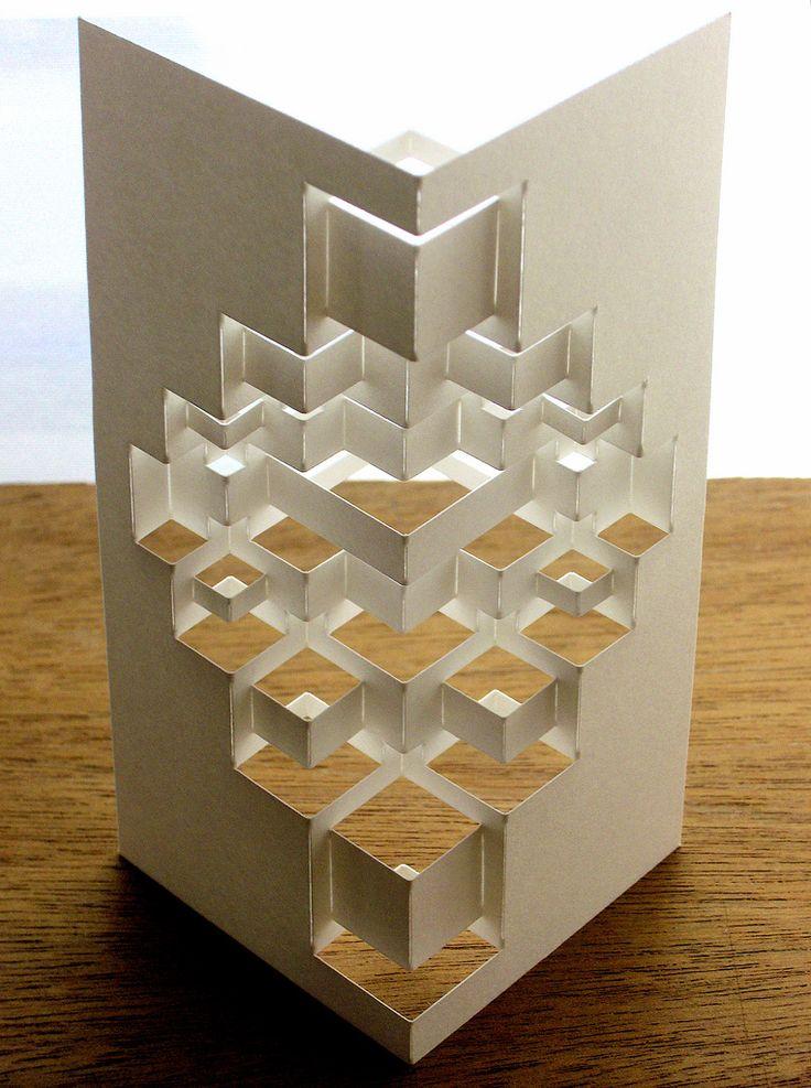 Cube Module Reverse Handmade Origami Architecture