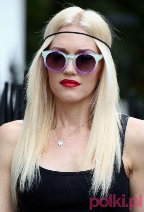 Gwen Stefani - modne opaski do włosów #polkipl