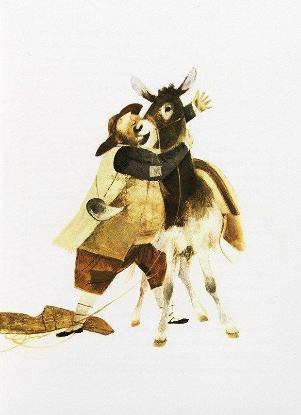 Stunning Vintage Illustrations of Don Quixote by Spanish Graphic Design Pioneer Roc Riera Rojas – Brain Pickings