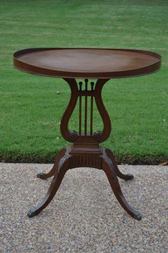 Antique Harp Coffee Table