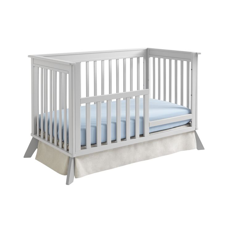 Children Bed Guard Rail Sealy Bella Midcentury 3in1 Crib Conversion Kit By Convertible Cribtoddler Bedday