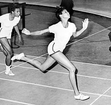 Wilma Rudolph....1960 Summer Olympics in Rome. Rudolph became the first American woman to win three gold medals in track and field during a single Olympic Games....all this despite contracting infantile paralysis at 4 and wearing a leg brace and specialized shoes until she was 11.