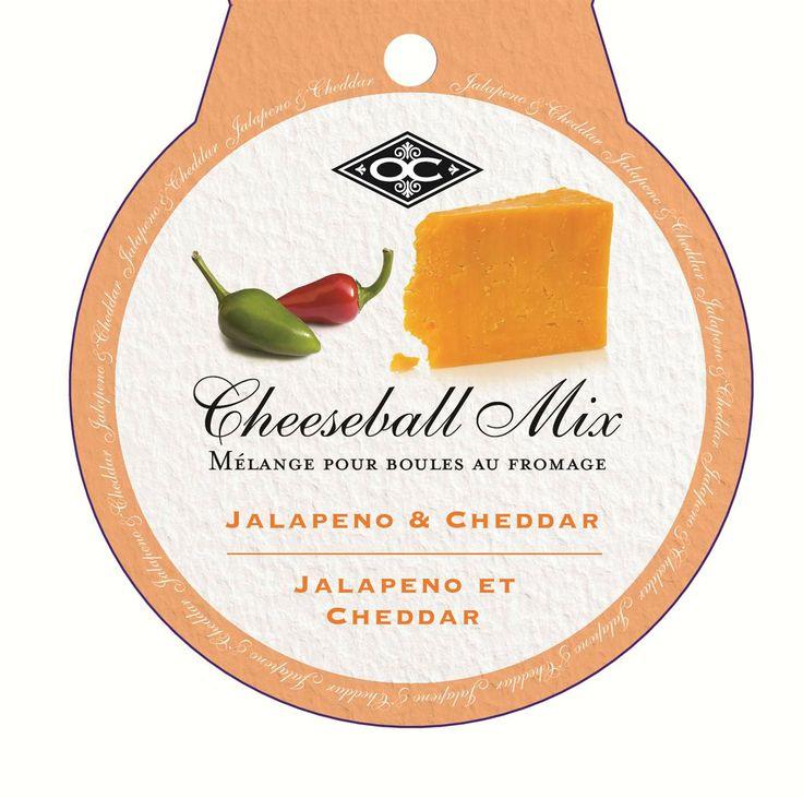 CHEESEBALL/JALAPENO & CHEDDAR