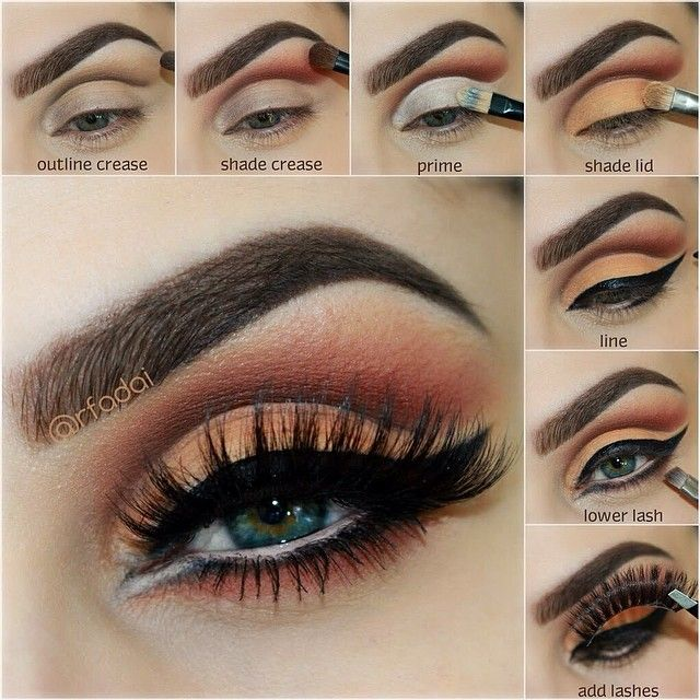 Steps from yesterday's post.  From ✨@anastasiabeverlyhills✨ All eye shadows from the L... | Use Instagram online! Websta is the Best Instagram Web Viewer!
