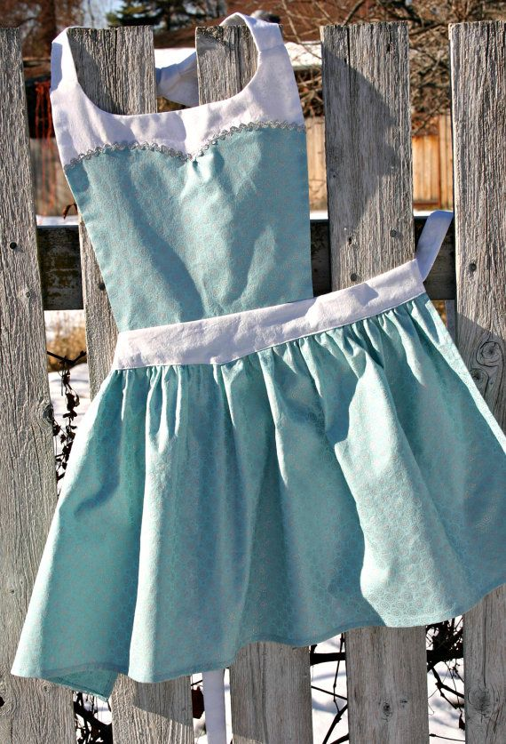 ELSA Disney Princess inspired Child by QueenElizabethAprons