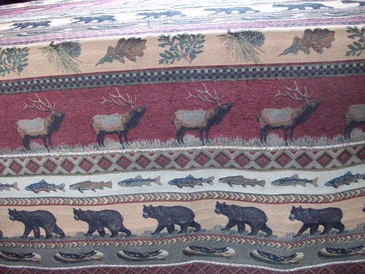 1000 Images About Rustic Tapestry Upholstery Fabric On