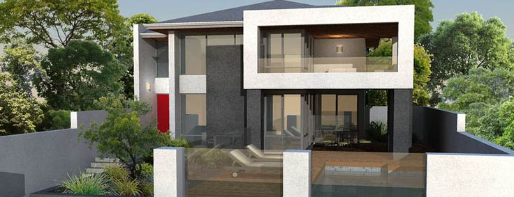Front Elevation Glass Design : Final modern storey house design dwellings pinterest