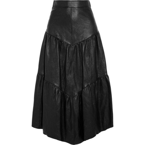 best 20 leather midi skirt ideas on
