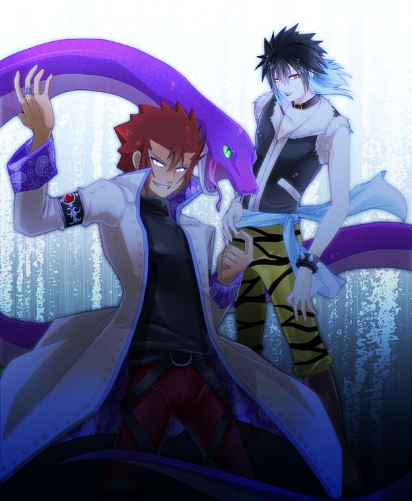 Cobra Manga Wallpaper: Cobra And Midnight (Fairy Tail) By TheDemonLady.deviantart