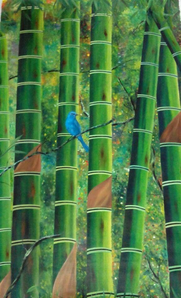Bambú cafetero artista FM Marin