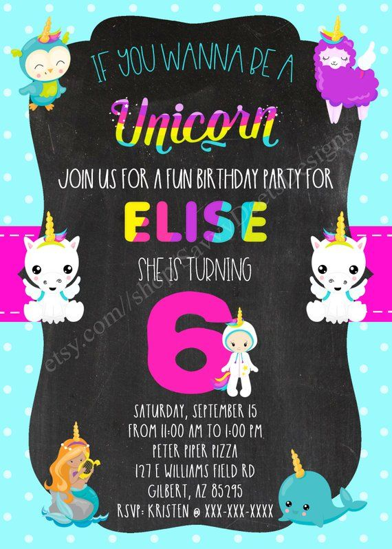 graphic about Printable Birthday Signs referred to as Wannabe Unicorn Birthday Invitation Printable - Wannabe
