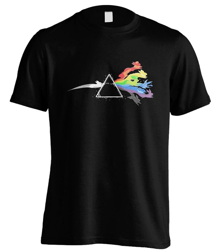 Sunshine T Shirts Dark Side of the Moon Stone Pokemon T Shirt