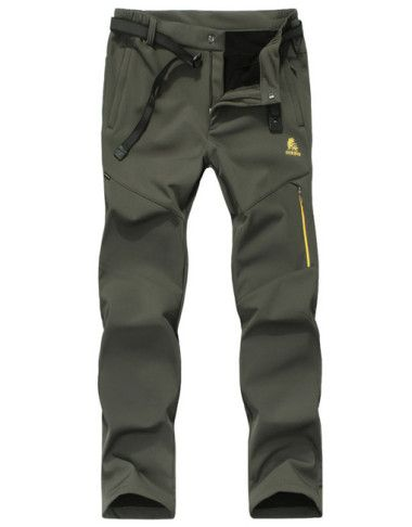 mens-waterproof-fleece-lining-venture-trekking-hiking-pants-2
