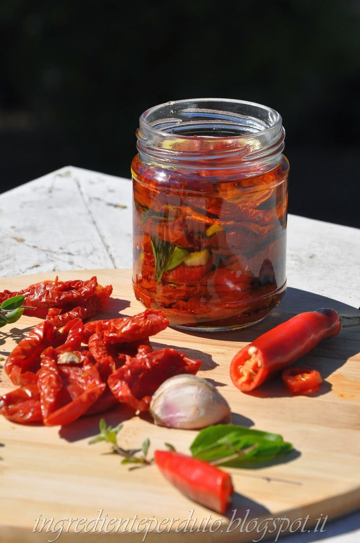 L'ingrediente perduto: Pomodori secchi sott'olio...il potere dell'essiccazione!