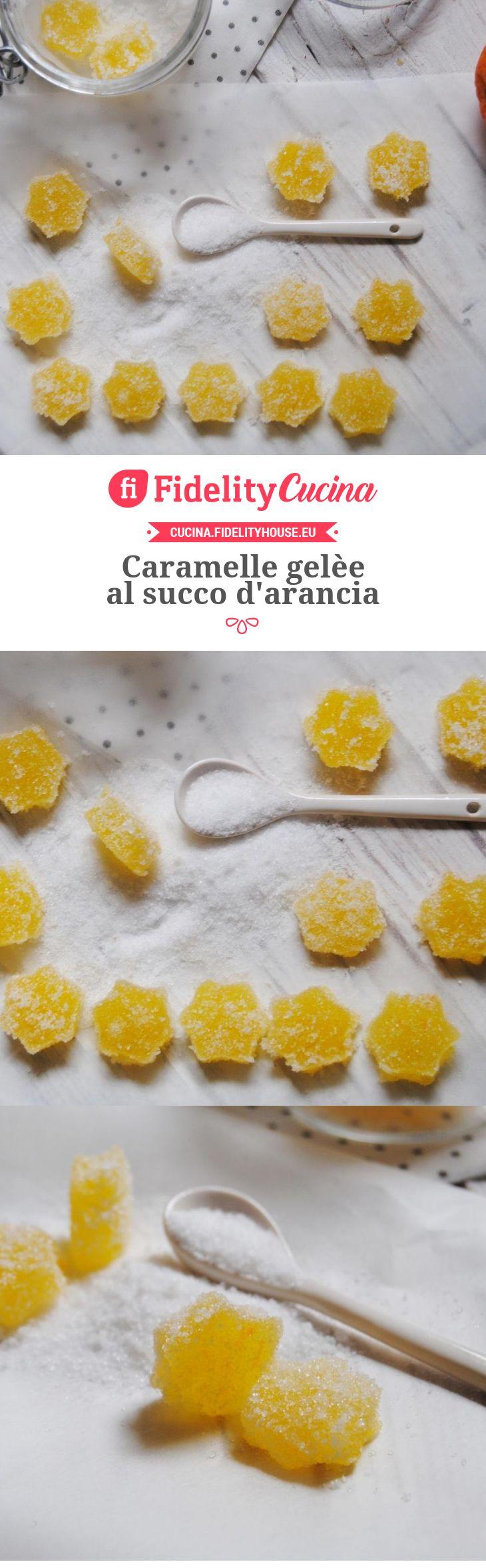 Caramelle gelèe al succo d'arancia