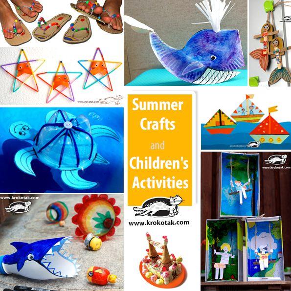 summer kids crafts