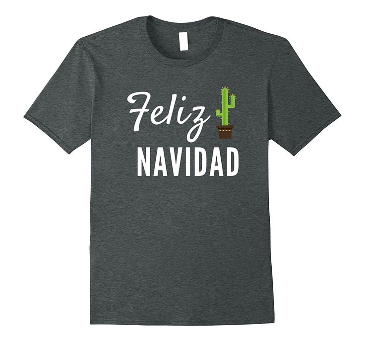 Feliz Navidad Spanish Christmas Cactus T-Shirt