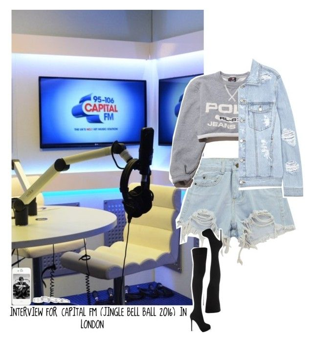 """Celebrity Life: Interview For Capital Fm (Jingle Bell Ball 2016) In London"" by jhessicakauana ❤ liked on Polyvore featuring La Perla, Chicnova Fashion, Ralph Lauren, SJYP, Charlotte Olympia and Kendra Scott"
