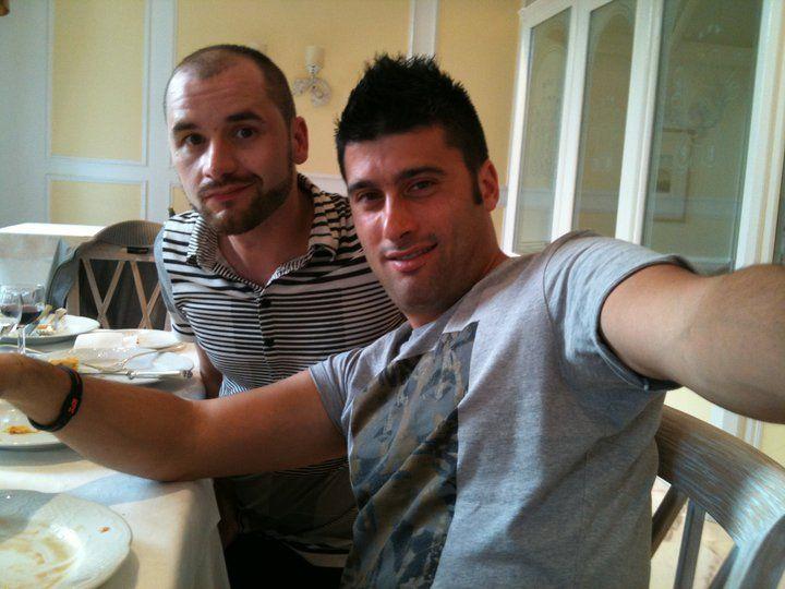 21 maggio 2011 xoxoxo Stefano e Claudio :)