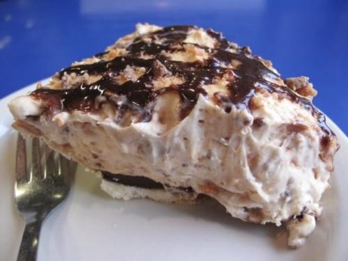 Weight Watchers butterfinger pie.  4 points plus per serving. cchance1